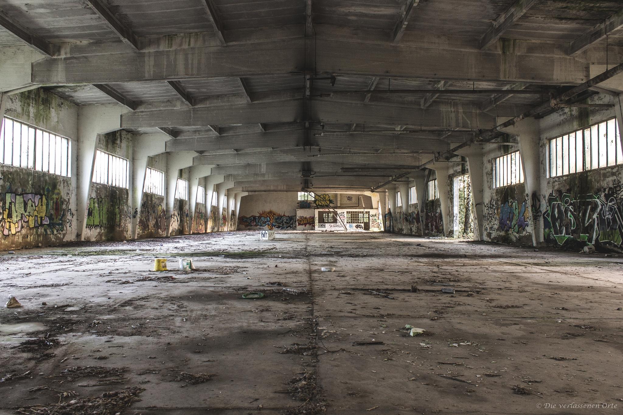 Orte aachen verlassene Verlassene fabriken