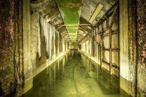 Der unterirdische Beschussbunker (1)