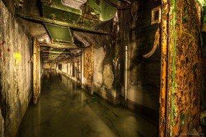 Der unterirdische Beschussbunker (2)