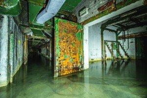 Der unterirdische Beschussbunker (3)
