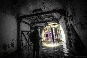 Der unterirdische Beschussbunker (4)