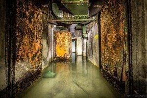 Der unterirdische Beschussbunker (5)